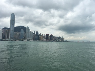 The view from the Star Ferry.