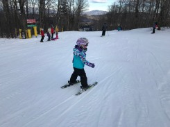 Our little skiers really caught on quickly!